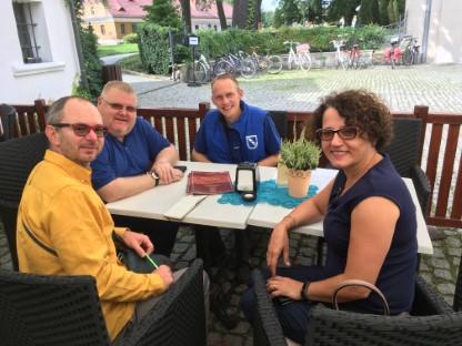 Im Gespräch mit der polnischen Landrätin Barbara Bandola